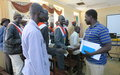 Aweil chiefs learn about differences between traditional and formal justice during UNMISS workshop