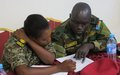 Military forces receive training on how to protect children in South Sudan