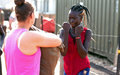 Don't mess with me: UK peacekeepers teach South Sudanese girls self-defence skills