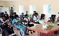 Women's representatives vow to strengthen their collective voice at a forum in Yambio