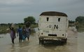 Floods devastate homes at UN Protection of Civilians site in Bor
