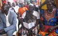 The displaced in Juba urge speedy implementation of peace agreement