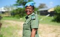 Zambian peacekeeper awarded 2020 United Nations Woman Police Officer of the Year