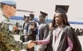 Dozens of students graduate from UN mission's training centre in Bor