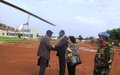 DSRSG Soumaré visits Bor and Pibor: Road, airstrip and released child soldiers need our attention