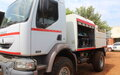 UNMISS donates trucks and equipment to bolster fire services in Juba