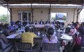 Women leaders and peacekeepers brief UN Peace Chief on challenges of working for peace in South Sudan