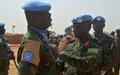 Ghanaian Peacekeepers serving in Bentiu awarded UN Medal