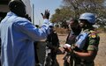 Seriously injured man receives lifesaving aid from Ghanaian peacekeepers