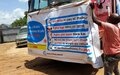 Individuals and institutions in Bor join UNMISS mobile COVID-19 awareness campaign