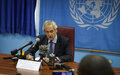The Secretary-General's Special Representative pledges constitutional and electoral support for South Sudan