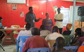 IDP's receive training on gender issues