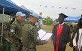 """Life smiled on me again"" – Deng Maker Deng graduates from UNMISS-provided training in Bor"