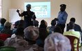 Police officers complete training to combat sexual and gender-based violence in Kapoeta