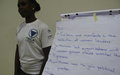 Women grassroots in Juba discuss gender-related provisions of the revitalized peace agreement
