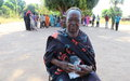 Returnees and vulnerable groups in Wau receive brand new solar radios
