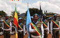 UNMISS celebrates Ethiopian peacekeepers commitment to peace