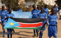 Going for the Goal: South Sudanese University Students Aim to Score for Peace