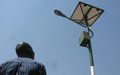 UNMISS launches installation of solar lighting system to support Juba Teaching Hospital