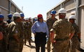 UK Minister visits Malakal as engineering task force prepares to exit South Sudan mission