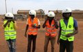 Peace and road safety messages come riding on boda bodas in Wau