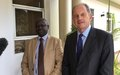 "UNMISS Head hails ""productive meeting"" with South Sudanese President ahead of UN General Assembly in New York"