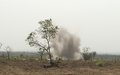 UNMAS demolishes its one millionth explosive item in South Sudan – a 100kg bomb