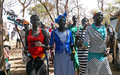 Women celebrate new peace agreement to end intercommunal violence in Gok