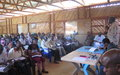 Potential returnees gain confidence following dialogue with leaders in Wau