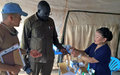 Some respite in Kong village as Mongolian peacekeepers provide much-needed medical services