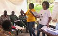 Opposition forces receive training on protecting children caught up in armed conflict