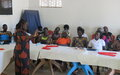 Women in Nimule learn how to achieve peaceful coexistence