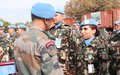 Nepalese peacekeepers promote the important role of women in the military as they end their service in South Sudan