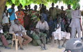 UNMISS peacekeepers work to deter intercommunal violence in Tonj