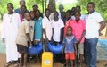 UNMISS' peacekeepers bring a little respite to needy orphans at Torit centre