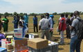 The United Nations in South Sudan comes together to provide protective items to Kapoeta stakeholders