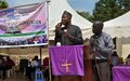 UNMISS amplifies messages of peace and reconciliation at annual religious event in Juba