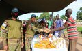 UNMISS peacekeepers from Bangladesh vaccinate hundreds of cattle, raise COVID-19 awareness in Wau