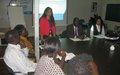 Juba City officials received dialogue skills training