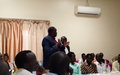 Revitalized peace agreement finds ambassadors at Juba University