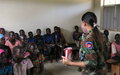 Living her dream: from teacher to peacekeeper in Aweil