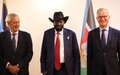 Political and security discussions dominate meeting between UN peace chief and South Sudan's President