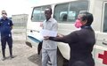 UNMISS donates ambulance to COVID-19 task force in Kodok, Upper Nile State