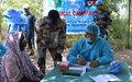 UNMISS BAN FMU medical outreach effort in Mangalla