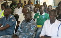Police officers in Eastern Equatoria receive UNMISS-led training on human rights