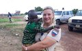 UN police in Bor fund eye surgery for four-year-old