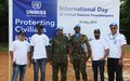 Senior Rwandan military in Aweil: Peacekeepers are the eyes and ears of the United Nations