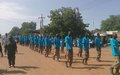 Civilians march with soldiers as Malakal unites in first-ever International Day of Peace walk