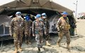 Mongolian peacekeepers restore calm and stability in conflict-ridden Mayom