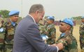 SRSG David Shearer awards Indian troops UN Peacekeeping Medals
